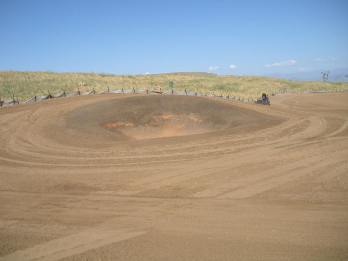 Hole 15 Pot Bunker 1