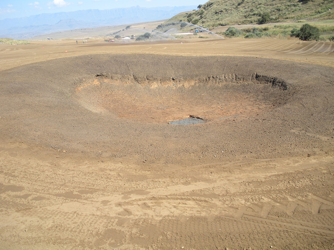 Hole 15 Pot Bunker 2