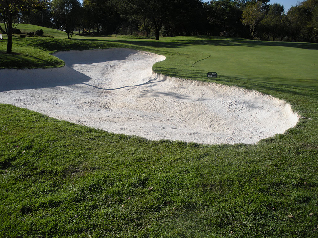 Sand is then applied and sealed with Bunkertac