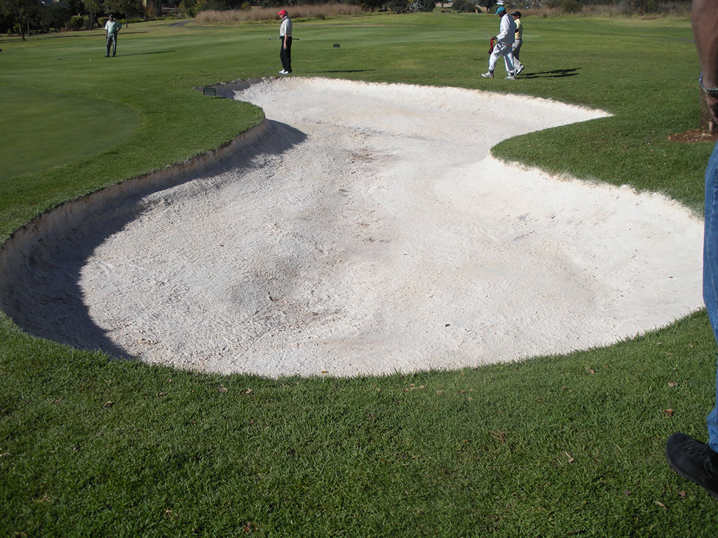 a fully stabilized Bunker ready for sanding