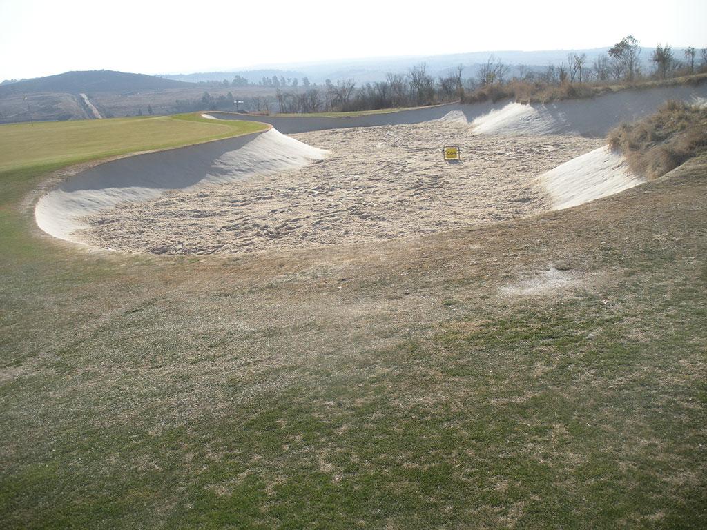 Blair Atholl Bunker 14 After Bunkertac application