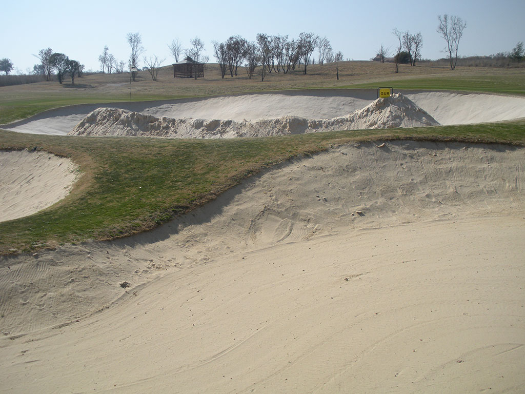 Blair Atholl Bunker stabilization Hole 10