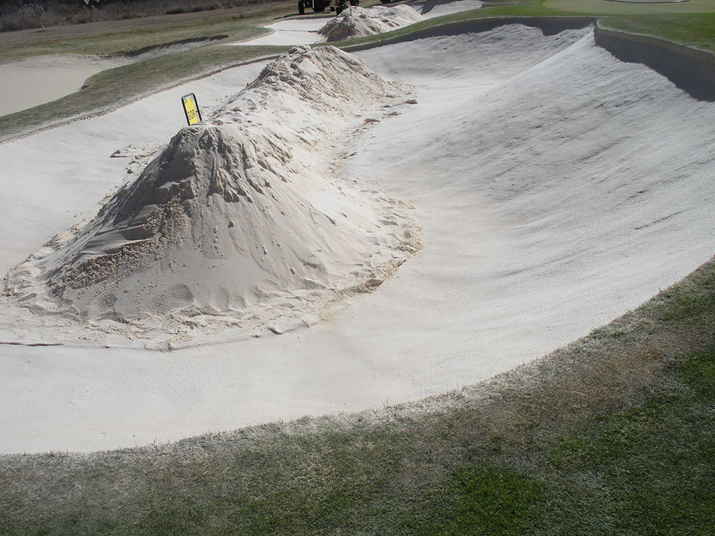 Blair Atholl Bunker Hole 10 After Bunkertac application