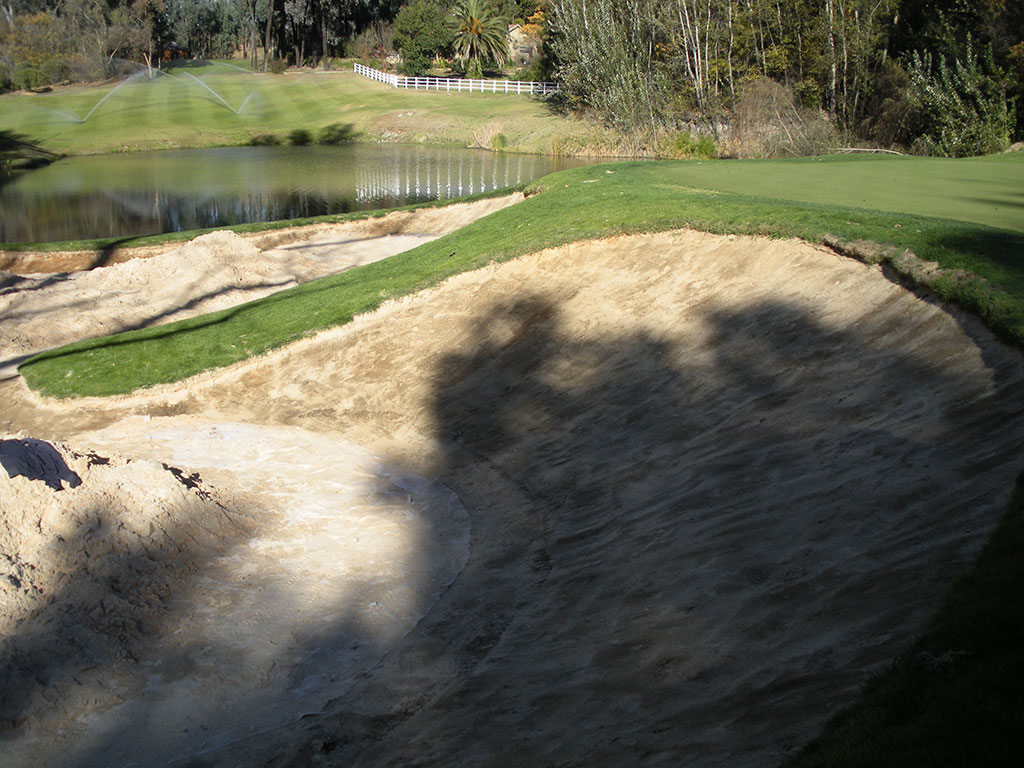 Blair Atholl Hole 3 Bunker - AFTER Bunkertac