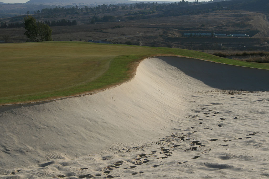bunker maintenance - Blair Atholl Bunker 14 After Bunkertac application