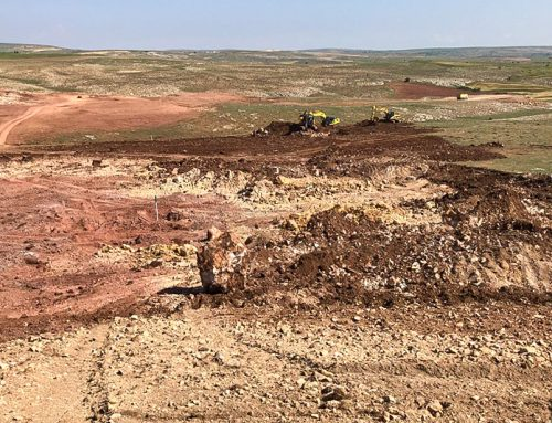Ankara's first full-length course now in construction